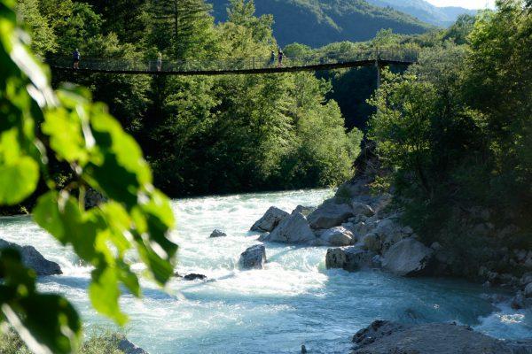 Die Brücke von der anderen Seite.