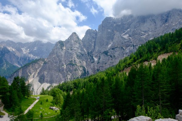 Mitten in den Julischen Alpen